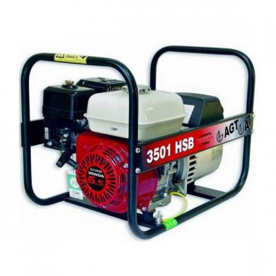 Бензиновый генератор AGT 7501 HSB PL