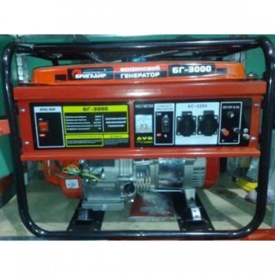 Бензиновый генератор Бригадир Standart БГ 3000