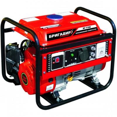 Бензиновый генератор Бригадир Standart БГ 1100