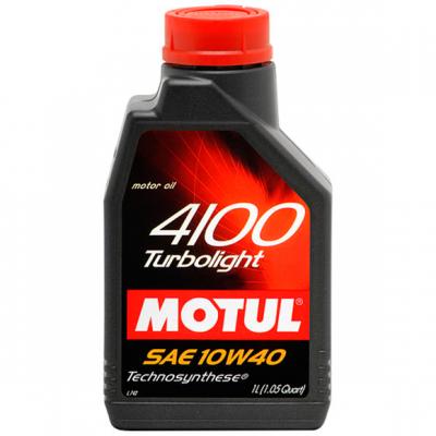 Моторное масло для дизельных и бензиновых двигателей MOTUL SAE 10W-40