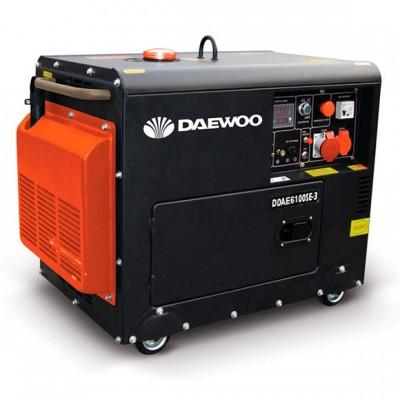 Дизельный генератор Daewoo DDAE 6100SE