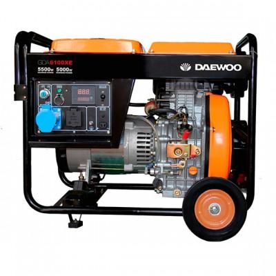 Дизельный генератор Daewoo DDAE 6100XE