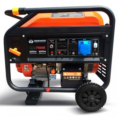 Бензиновый генератор Daewoo GDA7500E