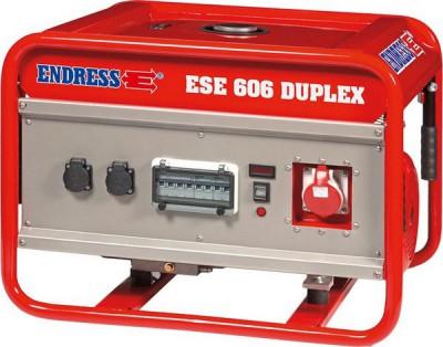 Бензиновый генератор ENDRESS ESE 606 DSG-GT DUPLEX