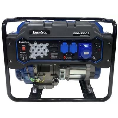 Бензиновая электростанция EnerSol EPG-5500S