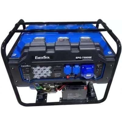 Бензиновая электростанция EnerSol EPG-7500SE