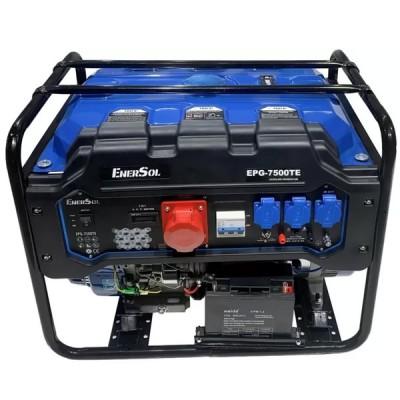 Бензиновая электростанция EnerSol EPG-7500TE