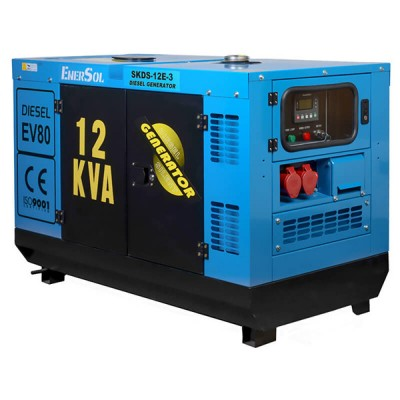 Дизельная электростанция EnerSol SKDS-12E-3