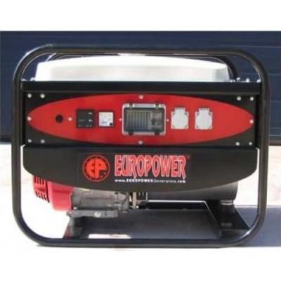 Бензиновый генератор EUROPOWER EP6500TE EN2