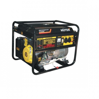 Бензиновый генератор HUTER DY 6500 LХ электростартер