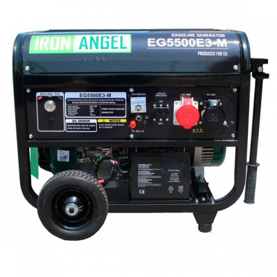 Бензиновая электростанция IRON ANGEL EG5500E3
