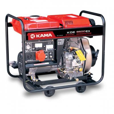 Дизельный генератор KAMA KDE6500E3