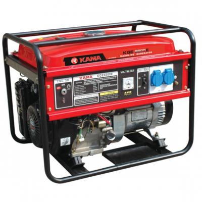 Бензиновый генератор KAMA KGE6600E