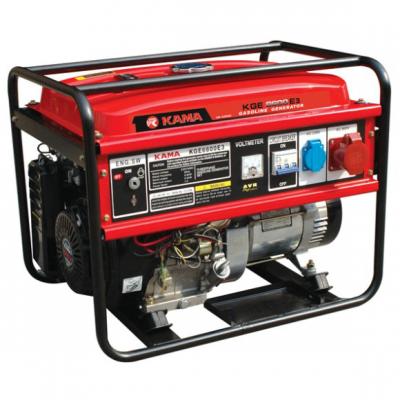 Бензиновый генератор KAMA KGE6600E3