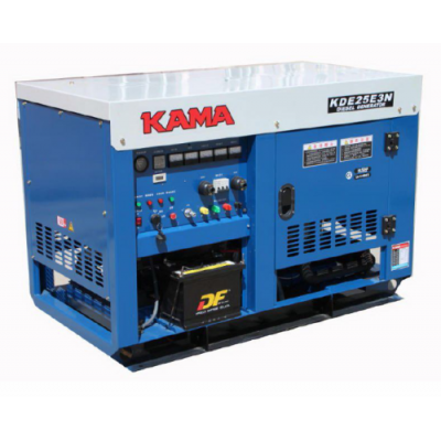 Дизельный генератор KAMA-KIPOR KDE 20 E 3 N