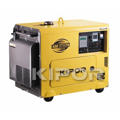 Дизельный генератор KIPOR KDА6700Т3