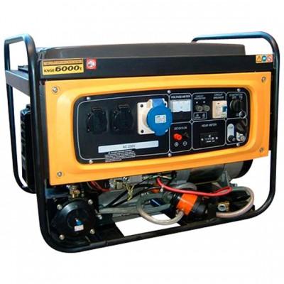 Двухтопливный генератор Kipor KNGE6000E3