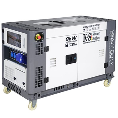 Дизельный генератор Konner & Sohnen KS 13-2DEW ATSR