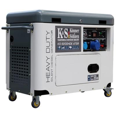 Дизельный генератор Konner & Sohnen KS 9200HDE ATSR