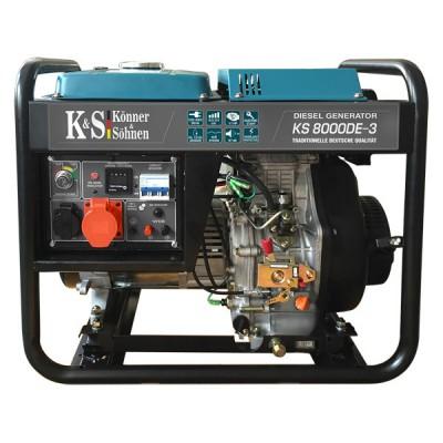 Дизельный генератор Konner & Sohnen KS 8000DE