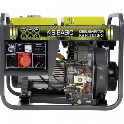 Дизельный генератор Konner & Sohnen BASIC KS 8000DE-3