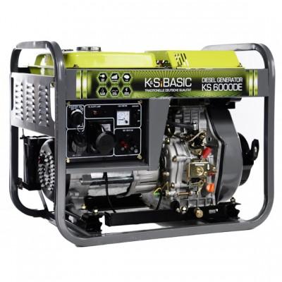 Дизельный генератор Konner & Sohnen BASIC KS 6000DE
