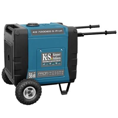 Инверторный генератор Konner & Sohnen KS 7200iEG S-PROFI