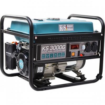 Газобензиновый генератор Konner & Sohnen KS3000G