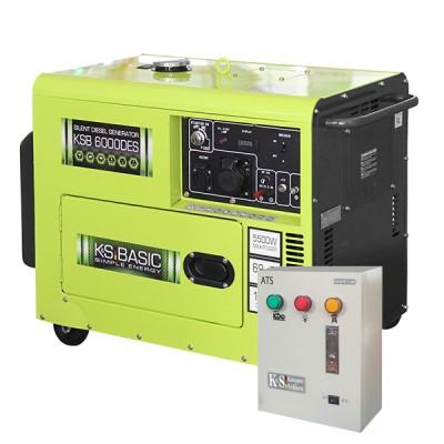 Дизельный генератор Konner & Sohnen KSB 6000DES ATS