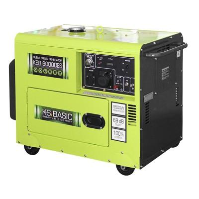 Дизельный генератор Konner & Sohnen KSB 6000DES ATSR