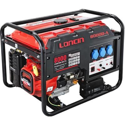 Бензиновая электростанция LONCIN LC 8000 D AS