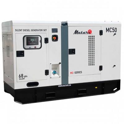Дизельный генератор Matari MC50LS