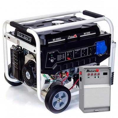 Бензиновая электростанция Matari MX9000E-ATS