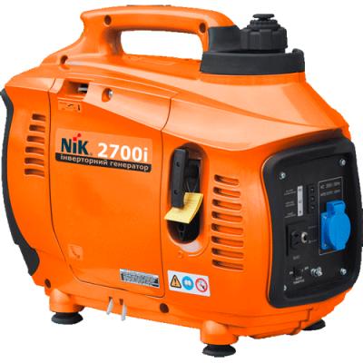Инверторный бензогенератор NiK PG 2700i