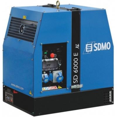 Электростанция SDMO SD 6000 E-XL