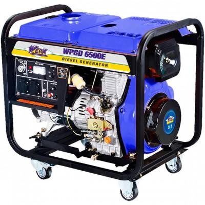 Дизельный генератор WERK WPGD6500E3