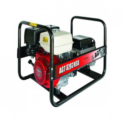 Бензиновый генератор AGT 8503 HSBE