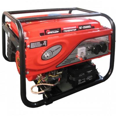 Бензиновый генератор Бригадир Standart БГ 2500ES