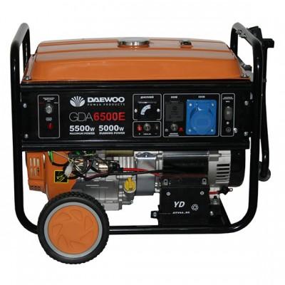 Бензиновый генератор Daewoo GDA6800E