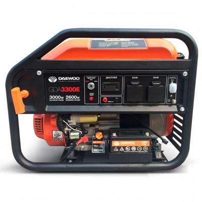 Бензиновый генератор Daewoo GDA3300E