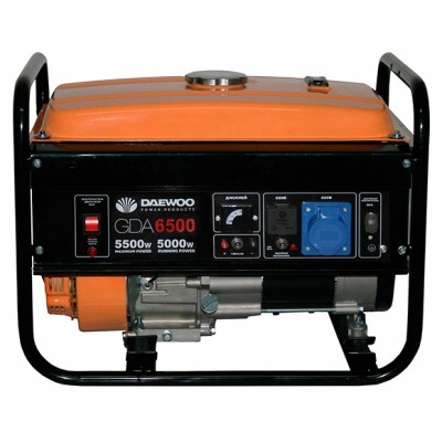 Бензиновый генератор Daewoo GDA6500E