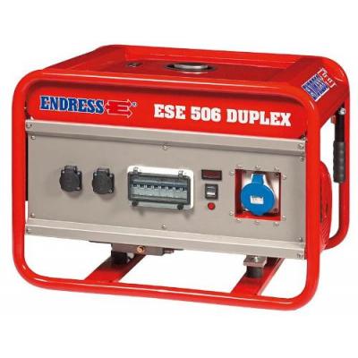 Бензиновый генератор ENDRESS ESE 506 SG-GT ES DUPLEX