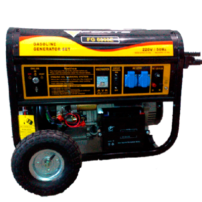 Бензиновый генератор FORTE FG 9000E