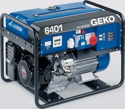 Бензиновый генератор Geko 6401ED-AA HEBA