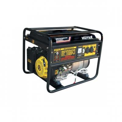 Бензиновый генератор HUTER DY 5000 LX электростартер