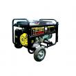 Бензиновый генератор HUTER DY 8000 LX с колесами