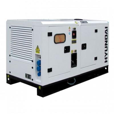 Бензиновый генератор HYUNDAI DHY11KSEm + ATS