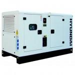 Бензиновый генератор HYUNDAI DHY18KSEm + ATS