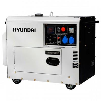 Дизельный генератор HYUNDAI DHY 8000SE-ATS