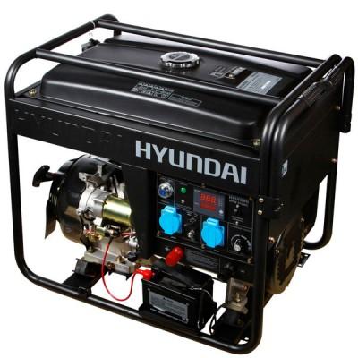 Сварочный бензиновый генератор HYUNDAI HY 210AC